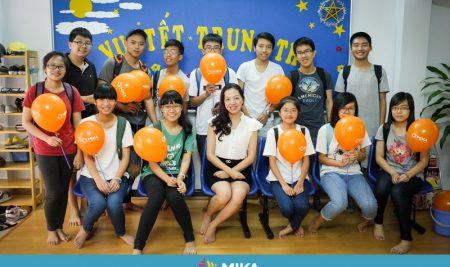 Đội tuyển HSG tiếng Anh Quốc gia tỉnh Thái Nguyên ôn luyện tại Mika